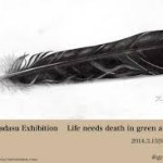 有田匡展「Life needs death in green&garden」開催中